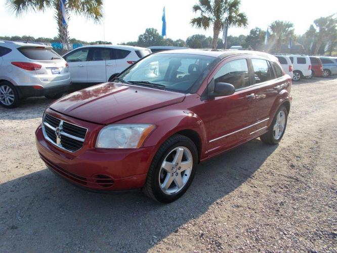 2007 Red /Black Dodge Caliber (1B3HB78K47D) with an 2.4l I-4 SFI 2.4l engine, Automatic transmission, located at 745 East Steele Rd., West Columbia, SC, 29170, (803) 755-9148, 33.927212, -81.148483 - Photo #0
