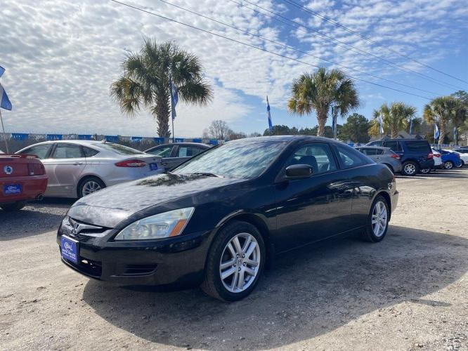 2004 Black /Black Honda Accord (1HGCM81684A) with an 3.0l V6 EFI Sohc 3.0l engine, Manual transmission, located at 745 East Steele Rd., West Columbia, SC, 29170, (803) 755-9148, 33.927212, -81.148483 - Photo #0
