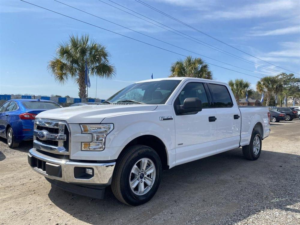 2017 White /Grey Ford F150 (1FTEW1CP3HK) with an 2.7l V6 DI T/C Ecoboost 2 engine, Automatic transmission, located at 745 East Steele Rd., West Columbia, SC, 29170, (803) 755-9148, 33.927212, -81.148483 - Photo #0