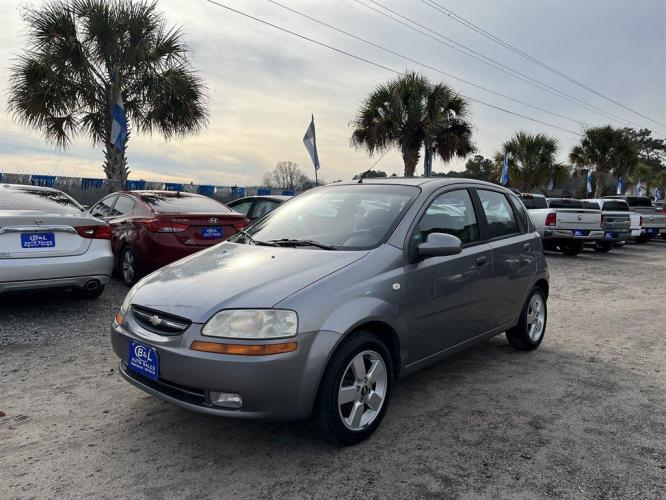2008 Grey /Grey Chevrolet Aveo LS (KL1TD66678B) with an 1.6l I-4 EFI Dohc 1.6l engine, Automatic transmission, located at 745 East Steele Rd., West Columbia, SC, 29170, (803) 755-9148, 33.927212, -81.148483 - Photo #0