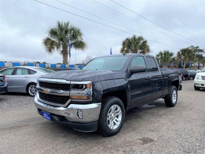 2016 Grey /Grey Chevrolet Silverado 1500 (1GCVKRECXGZ) with an 5.3l V8 DI VVT Flex 5.3l engine, Automatic transmission, located at 745 East Steele Rd., West Columbia, SC, 29170, (803) 755-9148, 33.927212, -81.148483 - Photo #0