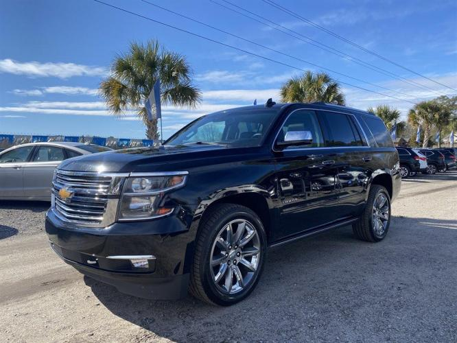 2016 Black /Black Chevrolet Tahoe (1GNSKCKC0GR) with an 5.3l V8 DI VVT Flex 5.3l engine, Automatic transmission, located at 745 East Steele Rd., West Columbia, SC, 29170, (803) 755-9148, 33.927212, -81.148483 - Photo #0